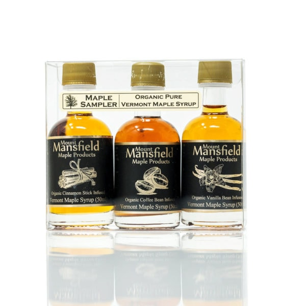 3-Pack Organic Flavored Maple Syrup Sampler