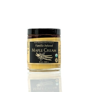 Infused Organic Vermont Maple Cream - Vanilla