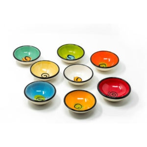 Oil Vinegar Dipping Bowls